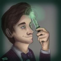 11th Doctor by ItsSianan