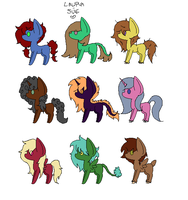 FREE ADOPTS (CLOSED) by bunnehbooh