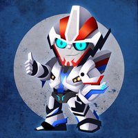 Chibi Smokescreen by NightLokison