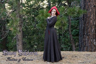 15th Century Brown Wool Gown by DaisyViktoria