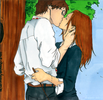 Harry and Ginny - Colo by Oursine