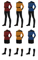 Concept Uniform, Female Dress Uniform by JJohnson1701