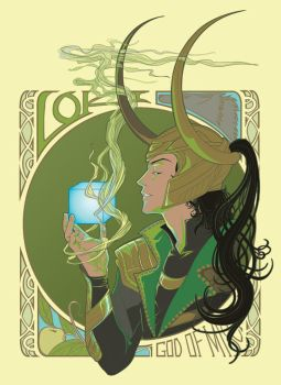 god of mischief. by jieyi