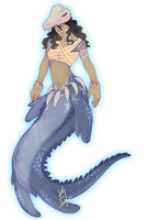MERMAY/ day 12- Sea Dinosaur /CLOSED by Niuwna