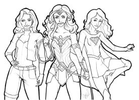 Ladies of DC by bluebabymay