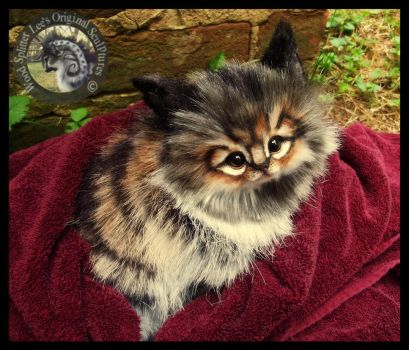 SOLD Handmade Kitten by Wood-Splitter-Lee