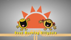 Good Morning Dillydale Windows 7 Theme by nc3studios08