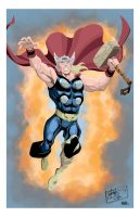The Mighty Thor by AndrewJHarmon