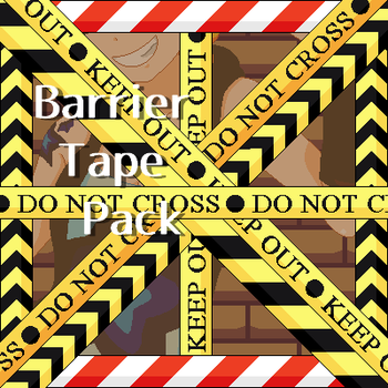 Barrier Tape Pack by katsu-bases