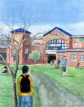 The take back of Lincoln Junior High by Odomi2