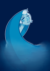 Blue Diamond by glaceen