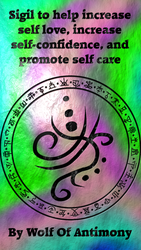 Sigil to help increase self love... by WolfOfAntimony