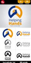 Helping Hands - Logo Template by doghead