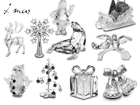 crystal xmas miniatures by sapphire88