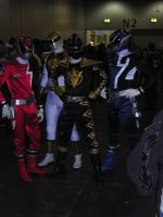 London expo - Power rangers by OrgXIII-Namine