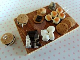FIMO S'more Making Kit by AliceAriel