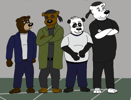 Amigosos / bear friends (we not bare bears) by VlogDawg