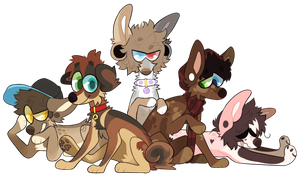 pack of strays by hex000000