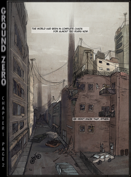 GROUND ZERO - CHAPTER 1 PAGE 2 by Catastrophilia