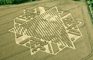 Crop Circle Message From The Stars. by R71