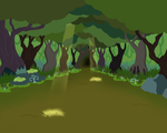 Everfree Forest Background by Cubonator