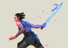 Rey from nowhere by leonardovincent