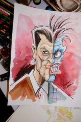 Two-Face by Noumier