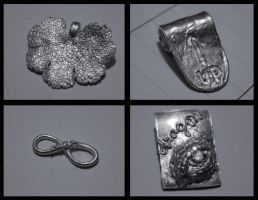First try with silver clay by ihni