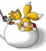 Tails Stuffed by ChineseFox