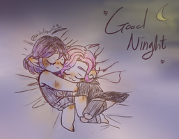 Skye and Maeve by winterout1