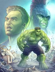 The Incredible Hulk by kpetchock