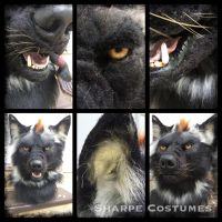 Black/rust werewolf by Sharpe19