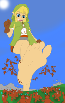 Barefoot Made for Stomping by Final7Darkness