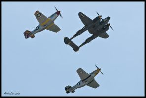 The Horsemen 2012 II by AirshowDave