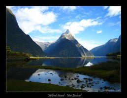 Milford Sound - New Zealand by endofheartache