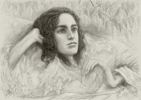Middle son of Maglor by Irsanna