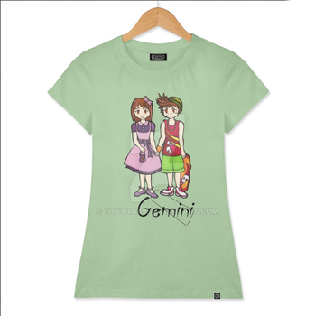 Gemini among the stars -series of T-shirts Polaris by Tifetta89