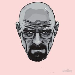 T-Shirt Design - Heisenberg - Breaking Bad by PaulTelling