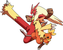30 Day Challange : pokemon - day 3 - Blaziken