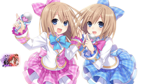 Rom and Ram Idol's Render by Grecia-san