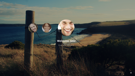 GalaxyOS Welcome Screen by thegbdc