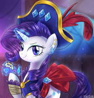 Pirate Rarity by LooknamTCN