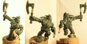 Dwarf berserker by The-Build