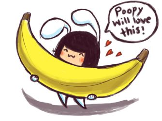 Banana for Poopy Part I by StrawberryFungus