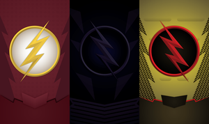 CW Flash Phone Background by UrLogicFails