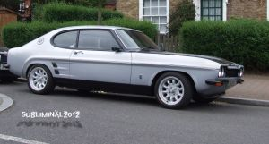 Ford Capri by subliminal2012