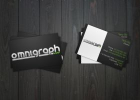Omnigraph Business Cards - v.1 by big-dan-designs