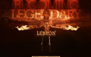 LBJ - Becoming Legendary by sha-roo