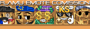 Twitch Emote Commission by Congeenial