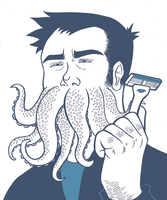 Squidbeard by TheSteveYurko